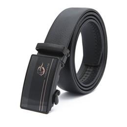 $enCountryForm.capitalKeyWord Australia - 3 Pack PVC Belt Automatic Buckle Business Men's Belts Versatile Wear-resistant Scratch-resistant Men's Belts 120*3.4cm