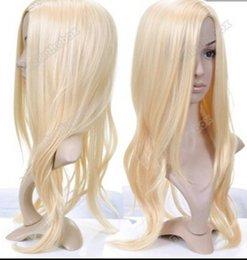 $enCountryForm.capitalKeyWord Australia - WIG shipping New Stylish Long Wavy Curly Blonde Cosplay party Hair Lady Wig Wigs Golden Great