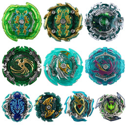 beyblade arena toy UK - 10 Upgraded Green Series 4D Beyblade Burst Toys Arena Beyblades Metal Fighting Explosive Gyroscope Fusion God Spinning Top Bey Blade Blades
