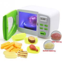 $enCountryForm.capitalKeyWord Australia - 1 Set Simulation Microwave Oven Toys Fun Pretend Toys Set Microwave Oven With Simulation Food Role Play Kitchen Toy Kid Gift