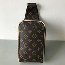 New back bag online shopping - hot classic fashion high quality new PU leather black plaid AV tricolor travel bag oblique back breast shoulder bag