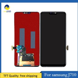 Samsung Galaxy Lcd Screen Australia - Cellcore Adjust Brightness LCD Screen for Samsung Galaxy J7 2016 J710 SM-J710f LCD Display Touch Digitizer Assembly
