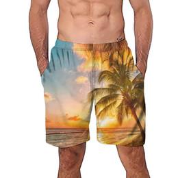 $enCountryForm.capitalKeyWord NZ - Mens Shorts Polyester Casual 3D Tree Printed Beach Work Casual Men Short Trouser Shorts masculina de marca Dropshipping
