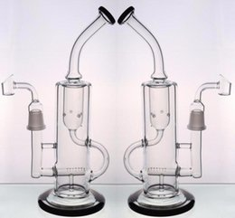 $enCountryForm.capitalKeyWord NZ - Joint 18.8mm Clear Glass Bongs Honey Bucket Banger Inline Percolators Recycle Oil Rigs glass bong Fast Ship Thck Base Smoking water pipes