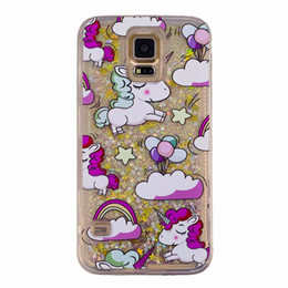 $enCountryForm.capitalKeyWord Australia - For Samsung Shiny Bling Cover s5 s10PLUS s9 s8 s7 edge s6 note 4 5 3 LG G7 G6 G5 Glitter quicksand porteciton Moving case