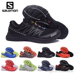 S lab online shopping - 2019 New Mens Salm S lab Sense Ultra Run Soft Ground Wings Fashion Running Shoes High Quality Outdoor Jogging Sports Athletic Shoe