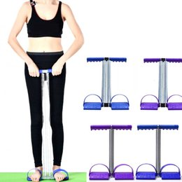 Purple Pedals Australia - (A454X) Ankle Puller Sit Up Mat Pull Spring Foot Pedal Exerciser Fitness Equipment Unisex