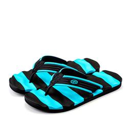 Men's Breathable Summer Shoes Australia - Men Summer Flip Flop Shoes Sandals Male Slipper Indoor Or Outdoor Beach Flip Flops Men Fashion Home Non-slip Breathable Slippers