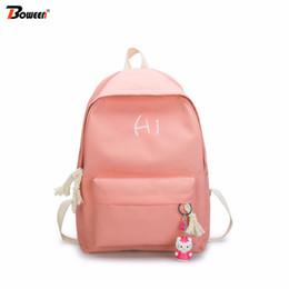Cute Girl Backpacks For High School Australia - canvas women backpack  school bags for girl pink Find Similar f9801bfa77fdc
