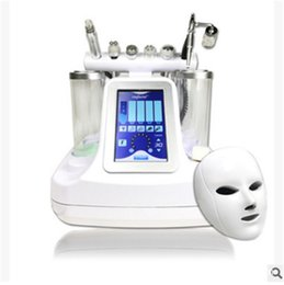 spa microdermabrasion machines Australia - 5 6 7 In 1 Bio RF Cold Hammer Hydro Microdermabrasion Water Hydra Dermabrasion Spa Facial Skin Pore Face Cleaning Machine DHL