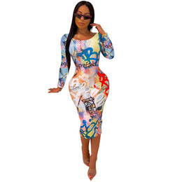 HISIMPLE 2019 New Vintage Upmarket populaire Sexy Club âge mûr mode Plein manches élastique taille haute femmes Skinny Robe longue