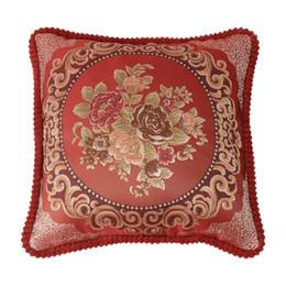 $enCountryForm.capitalKeyWord Australia - Gacsidy Store dakimakura Yarn-dyed Jacquard Polyester Square Pillow Cover Cushion Case Toss Pillowcase H Pillow Case