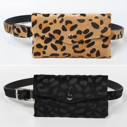 $enCountryForm.capitalKeyWord Australia - Fanny Pack Women Leopard Waist Bag Girls Belt Pouch Designer Luxury Female Waist Pack Ladies Mini Messenger Bag Chest Purse