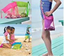 $enCountryForm.capitalKeyWord Australia - new-Baby Children Beach Mesh Bag Children Beach Toys Clothes Towel Bag Collection Nappy Mommy Storage Bag