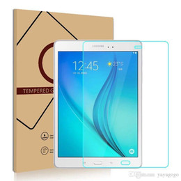 $enCountryForm.capitalKeyWord Australia - Wholesale Fast For iPad Screen Protector Tablet Tempered Glass for iPad Samsung Tad pro 8.4 T350 T355 P350 Protector Film with Retail Box