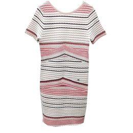 d68e8252 Club Factory Dresses NZ - Factory custom ladies wind three-dimensional  color stripes V-