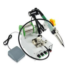 Vente en gros 220V 60W à main Fer à souder Chauffage interne Pied soudure automatique Gun Envoyer Tin Soudage Repair Tool