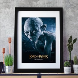 $enCountryForm.capitalKeyWord Australia - Hobbits Painting Bret McKenzie One Ring Posters And Prints Decorative Wall Art Pictures For Living Room Home Decoration
