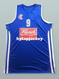 basketball jersey size 4xl NZ - #15 Dario Saric franch Men's Basketball Jersey All Size Embroidery Stitched Customize any name and name XS-6XL vest Jerseys NCAA