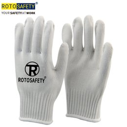 $enCountryForm.capitalKeyWord Australia - White Anti-cut Gloves Safety Cut Proof Stab Resistant Stainless Steel Wire Metal Mesh For Kitchen Butcher Cut-Resistant