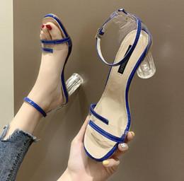 $enCountryForm.capitalKeyWord Australia - High-heeled sandals female summer new sexy PVC foot ring straps increased ventilation ladies shoes