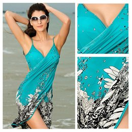 9d153478c1 Beach cover up sarong online shopping - Beach Bikini Cover Up Holiday  Beachwear Women Beach Dress