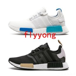 9684b971f6783 2019 NMD R1 OREO Runner NBHD Primeknit OG Triple black White camo Running  shoes For Men Women beige Runner Sports Shoes Outdoor Casual Shoes