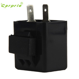 electronic flasher relay Canada - CARPRIE Hot Selling motorcycle switch Electronic LED Turn Signals Flasher Blinker Relay 12V 2 Pin Motorcycle Relay Gift May 17