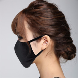 $enCountryForm.capitalKeyWord Australia - Unisex Mens Womens Adult Cycling Wear Anti-Dust Dust-proof Ash-proof Cotton Mouth Face Mask Respirator