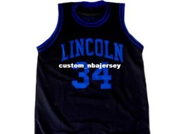 f222b9efd80d Shuttlesworth  34 Lincoln He Got Game Movie Basketball Jersey Black Stitched  Custom any number name MEN WOMEN YOUTH BASKETBALL JERSEYS
