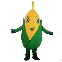 Vegetable adult costumes online shopping - 2019 hot sale Fruits and vegetables corn mascot costume role playing cartoon clothing adult size high quality clothing 00