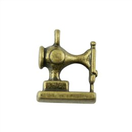 Charm making maChines online shopping - 50pcs Charm Sewing Machine Sewing Machine Pendant For Jewelry Making Antique Bronze Color D Sewing Machine Charms x15mm