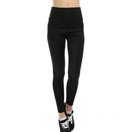 Sexy White Tight Clothes UK - Hot Sexy Women Yoga Pants Sport Leggings Solid Black Fitness Slim Tights Leggings High Waist Push up Running Pants Gym Clothes