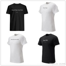$enCountryForm.capitalKeyWord Australia - Board Man Gets Paid mens designer t-shirts Kawhi 2 Leonard Fun guy Fans Tops Tee Black White printed brand logos Basketball jersey shirt