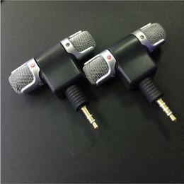 3,5 mm Klinke Minirecorder Stereosprach Mikrofon Mic für Laptop-PC Android Phone Sprechen im Angebot