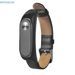 $enCountryForm.capitalKeyWord NZ - HIPERDEAL New Business Lightweight Leather Smart Wrist Watch Strap For Xiaomi Miband 2 High Quality new Arrival #j