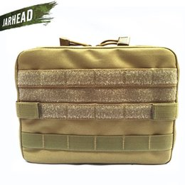 Edc Gear Waterproof Australia - Nylon Airsoft Tactical Military Modular MOLLE Small Utility Pouch EDC Bag Waterproof Mini Bagged Open Gear Tools Pouch Case #372539