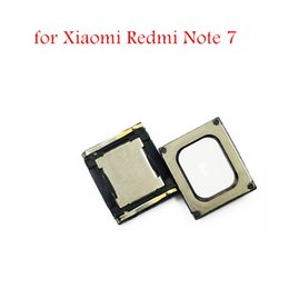 wholesale speaker repair NZ - 2pcs for Xiaomi Redmi Note 7 Earpiece Speaker Ear Speaker Cell Phone Sound Receiver Module for Redmi Note7 Replacement Repair