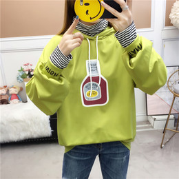 evening dress codes NZ - 2019 Dress Even Hat Woman Easy Will Fat Code Mm Thin Section Student Joker Letter Jacket