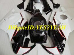 Honda F2 1991 Australia - Motorcycle Fairing kit for Honda CBR600F2 91 92 93 94 CBR600 F2 1991 1992 1994 ABS Top white black Fairings set+Gifts HG20