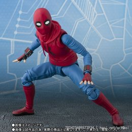 Box Spiders Australia - New 14cm Spider-man Homecoming Spiderman Super Hero Avengers Action Figure Toys Doll Christmas Gift With Box Y190604