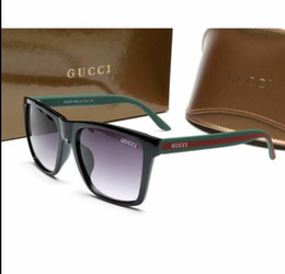China Luxury brands Sunglasses High Quality Metal Hinge Sunglasses Men Glasses pilot women Sunglasses with box free shipping