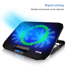$enCountryForm.capitalKeyWord Australia - Laptop cooler 2 USB Ports and Two cooling Fan laptop cooling pad Notebook Stand for 12-15.6 inch for