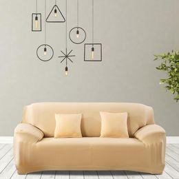 Copridivano di alta qualità Impermeabile Elastico antipolvere Fodera per divano Cuscino Protector per soggiorno Decor Vendita in Offerta
