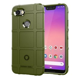 $enCountryForm.capitalKeyWord Australia - For Google Pixel 3A   3A XL Case Cover Soft Hybrid Armor Silicone Rubber Rugged Matte Finished Shield Fingerprint Proof Non-Slip