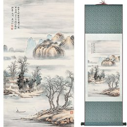 Chinese Floral Paintings Australia - Landscape Art Painting Super Quality Traditional Chinese Art Painting Home Office Decoration Chinese Painting1906101611