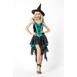 $enCountryForm.capitalKeyWord UK - Adults Women Witch Costume Cosplay Costumes 876 Demon Dress for Female Christmas Halloween Masquerade Party Dress Decoration