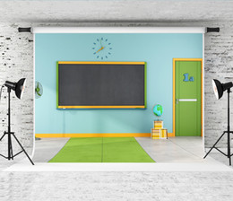 classroom decor NZ - Dream 7x5ft Back to School Colorful Classroom Photography Backdrop Indoor Blackboard Decor Photo Background for School Party Shoot Prop