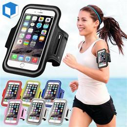 $enCountryForm.capitalKeyWord Australia - New iPhone XR XS MAX  X  8  7  Plus Sport Running Armband Jogging Gym Arm Band Pouch free shipping