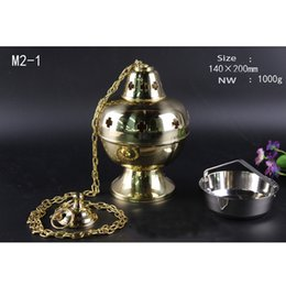 Art Church Australia - Custom Religious Brass Incense Censer Burner Thurible Church Home Incense Altar Size L140*W140mm*H200mm Arts Crafts & Gifts